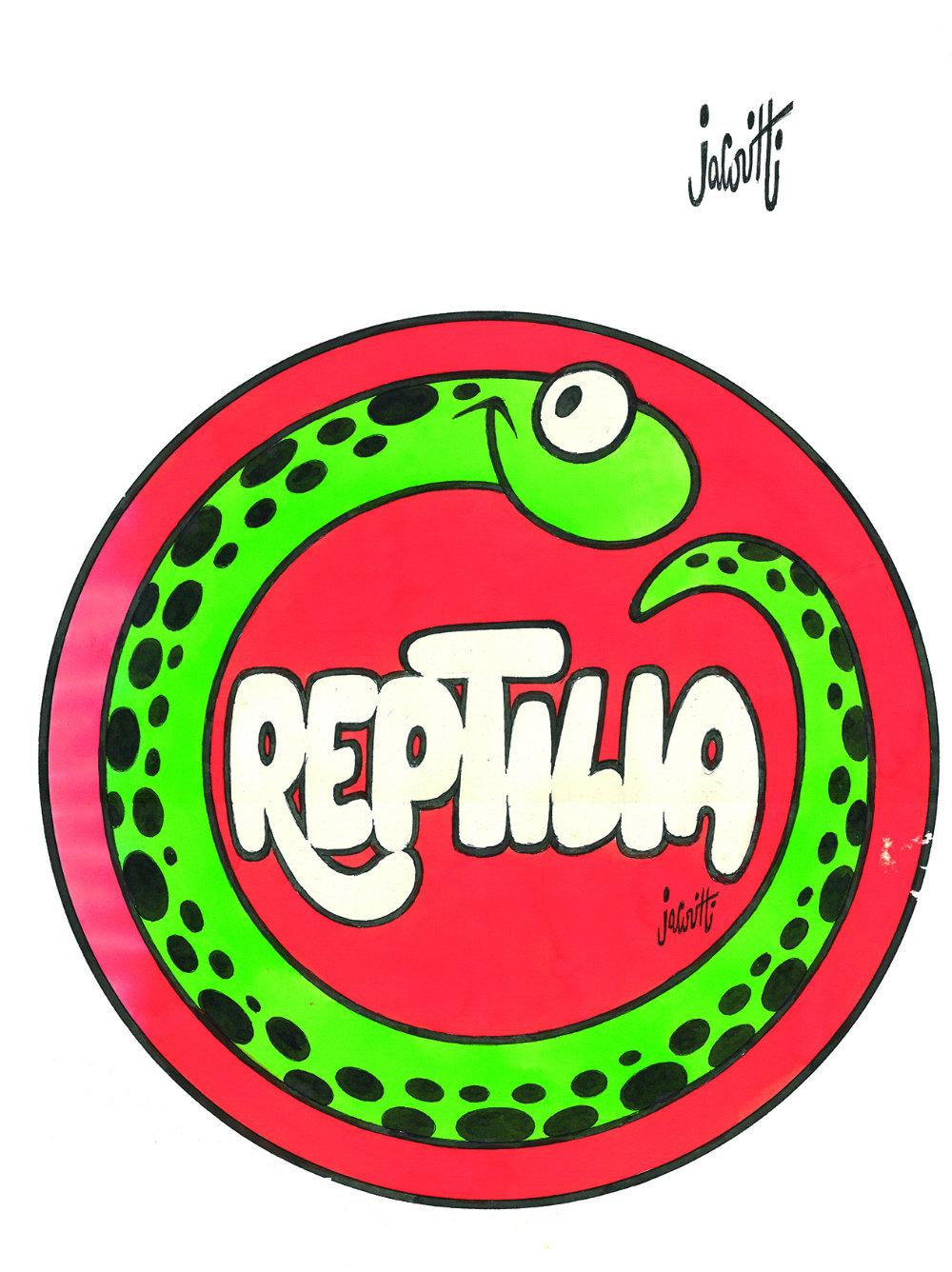 """""""Reptilia"""" di Benito Jacovitti"""