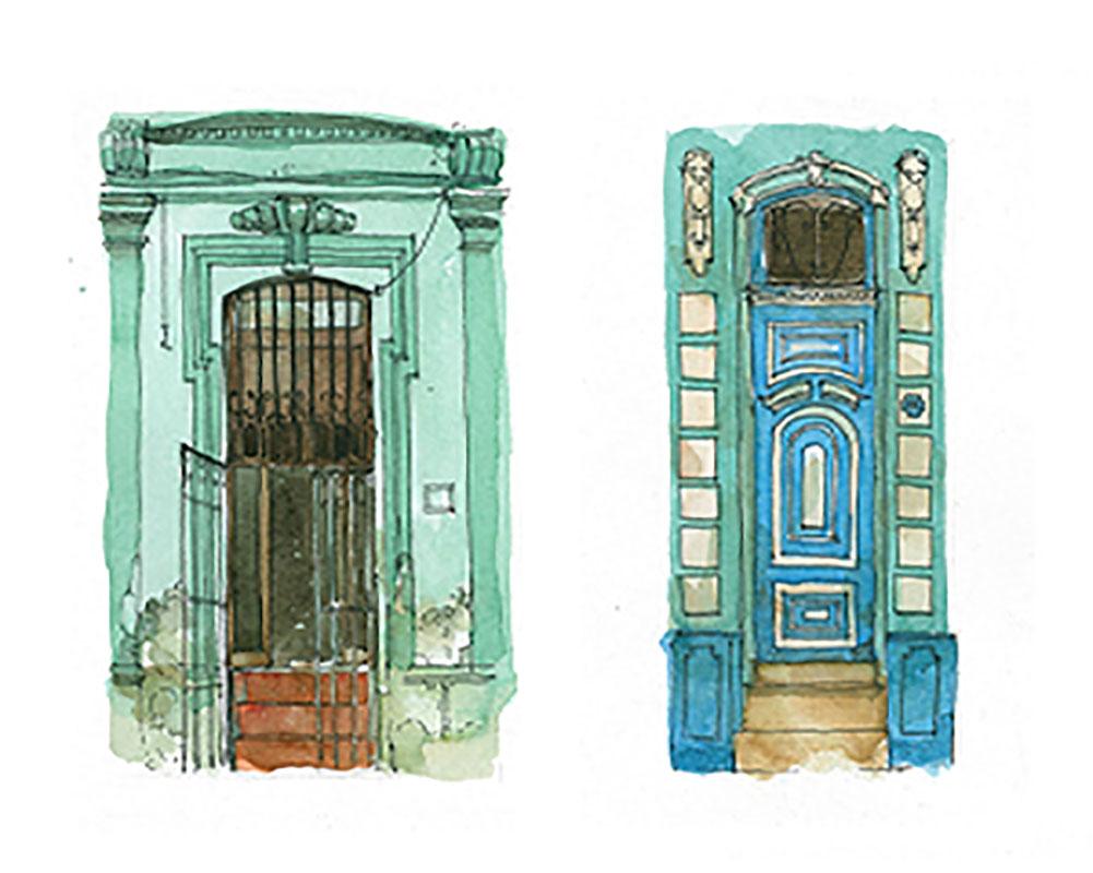 Cuba Doors € 300